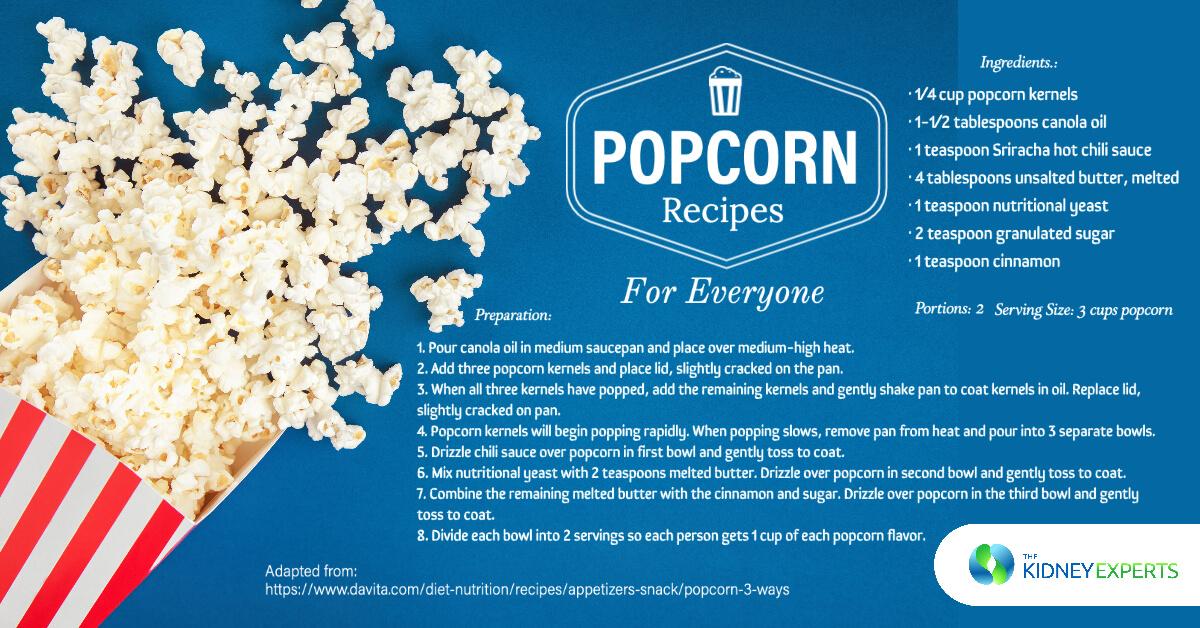 Popcorn Recipes for Everyone